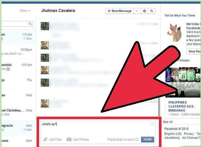 Imagen titulada Start a Conversation with a Guy on Facebook Step 13
