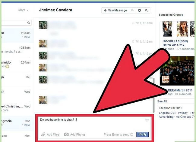Imagen titulada Start a Conversation with a Guy on Facebook Step 19