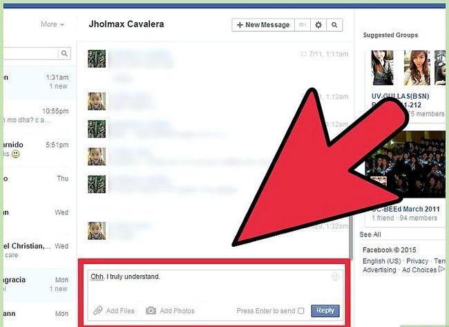 Imagen titulada Start a Conversation with a Guy on Facebook Step 20