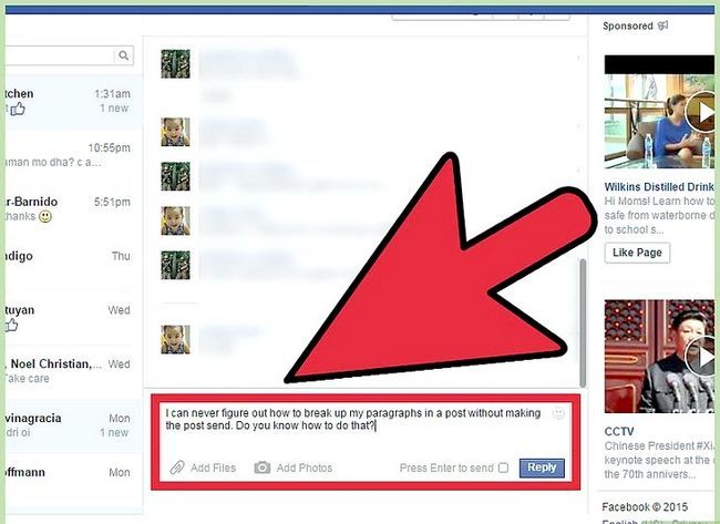 Imagen titulada Start a Conversation with a Guy on Facebook Step 2