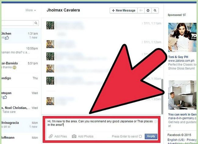 Imagen titulada Start a Conversation with a Guy on Facebook Step 3