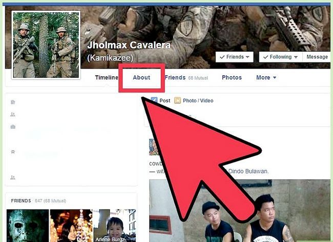 Imagen titulada Start a Conversation with a Guy on Facebook Step 7