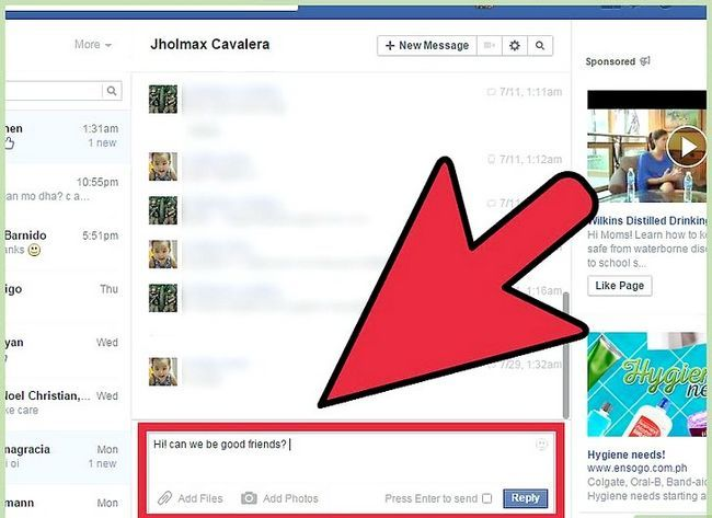 Imagen titulada Start a Conversation with a Guy on Facebook Step 8