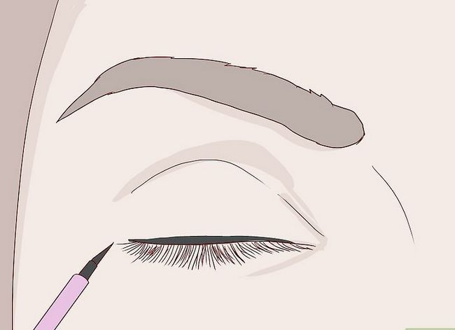 Imagine intitulată Obțineți Anime Lashes Pasul 2