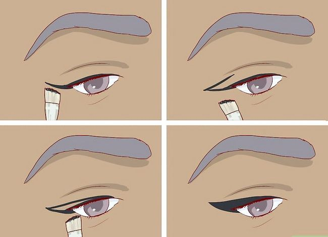 Imagine intitulata Obtineti Anime Lashes Pasul 3