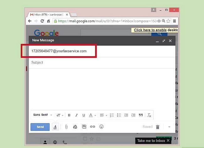 Imagen titulada Email to Fax Step 4