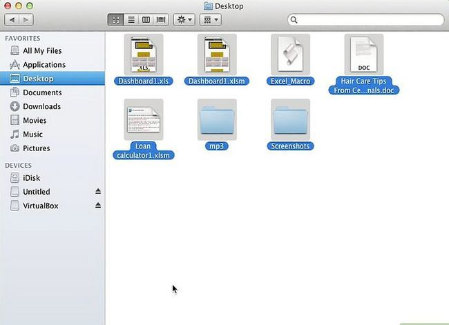 Imagen titulada Move Multiple Files Into a New Folder in Mac Os X Lion Step 2