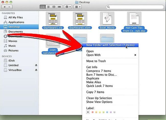 Imagen titulada Move Multiple Files Into a New Folder in Mac Os X Lion Step 4
